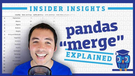 Data School: How to merge DataFrames in pandas (video)
